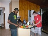 Wynton and Mark prepping the feast.: by dhoffman, Views[182]