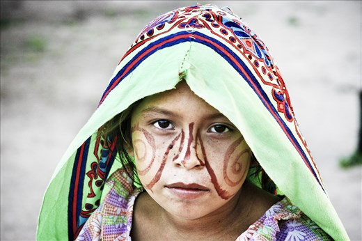 3.The Wayuu women are taught from a young age to preserve the traditions. They