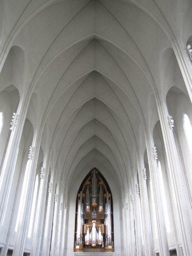 Hallgrimkirkja in Reykjavik
