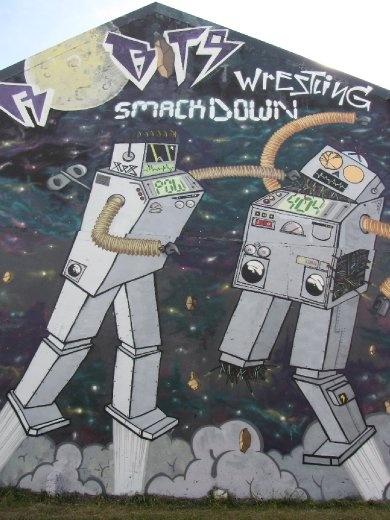 Reykjavik street graffiti