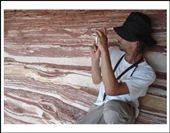 The layers looked somewhat like loads of pork belly slices or bacon stacked on top of one another...  Beautiful Kalbarri National Park: by dianefsc, Views[142]