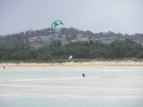 Wind surfer.
