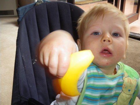Do you want my banana