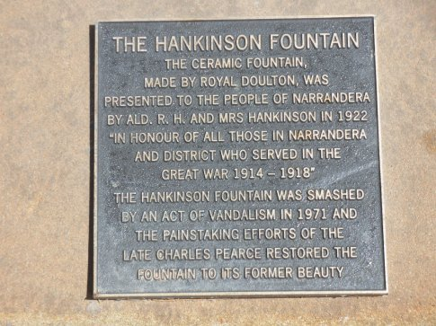 History on the Royal Doulton Fountain
