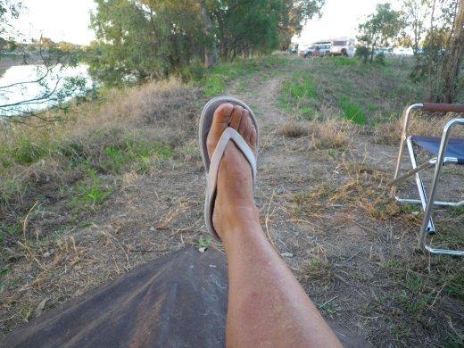 my brown leg
