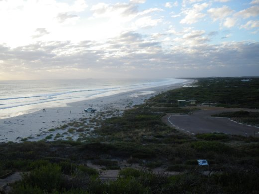 View from top of Cape le Grand
