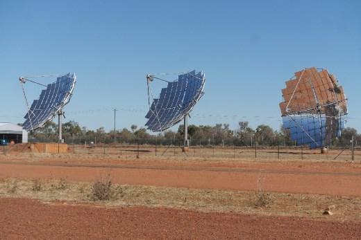 Solar power town.