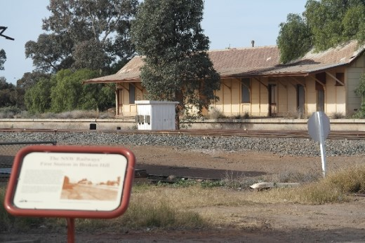 Original  Broken Hill Station.
