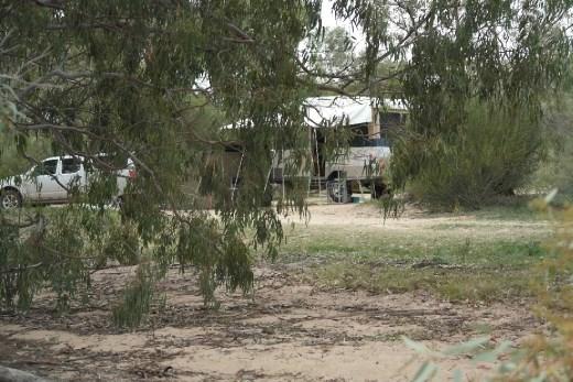Camp site Menindee