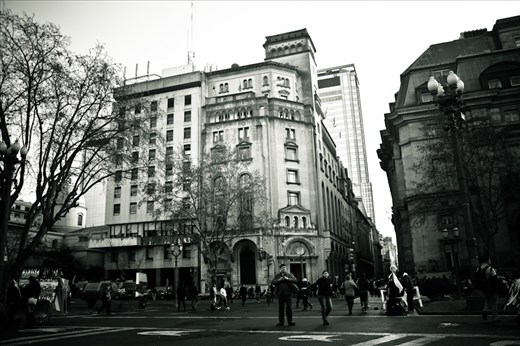 Downtown Buenos Aires. Great for some street photography.