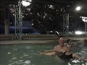 Aaron and Dina at San Kampaeng hot springs: by dinagosse, Views[169]