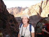 On my walk up the 3750 steps of Repentance on Mt. Sinai - Komin eıtthvad aleidis upp Mt. Sinai fjallid: by disa, Views[205]