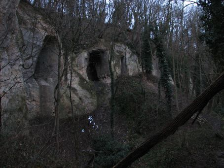 Entrance to Caves