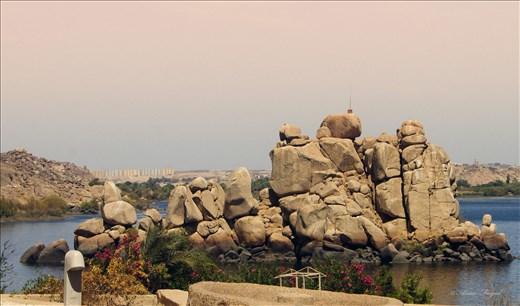 View outside Philia Temple , Aswan,Egypt
