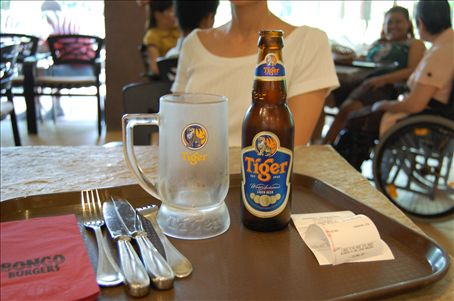 Nothing quite like an ice cold Tiger beer after a long hot day.