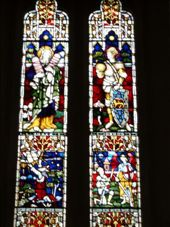 Stained glass windows in Church: by djswanson, Views[137]