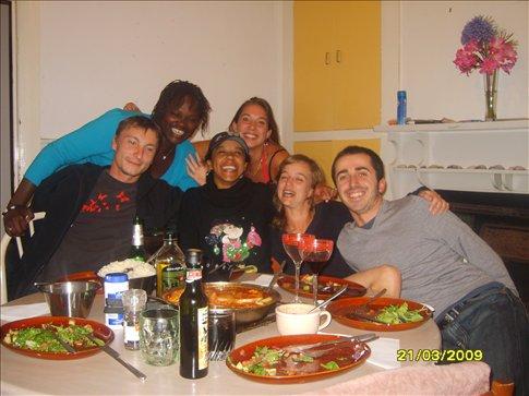 Dinner party/ Brasilain food
