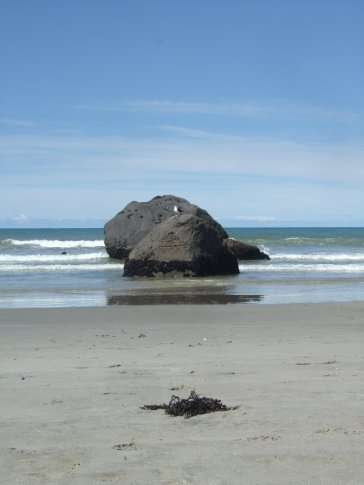 Newdicks Beach.  When everything started....