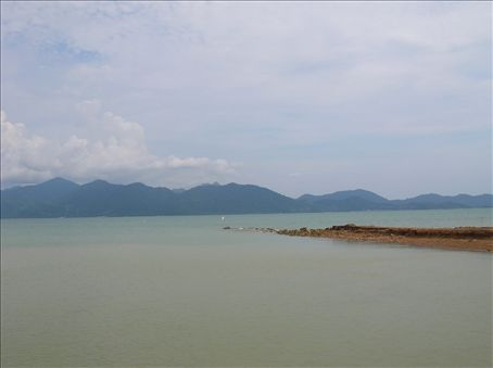 Ah!!! This is in Thailand, Koh Chang island where I spent a few days