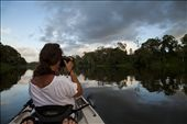 """Paparazzi on the Pioneer ""  I wanted to share my early morning experience on the Pioneer River with a friend.  As I pedalled along my friend was snapping away madly, overwhelmed and in awe of the beauty surrounding her.  : by dokart, Views[134]"