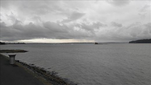 Skyline vom Meer... Mehr im nächsten Panorama.