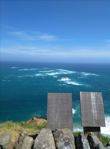 Cape Reingar, where the Tasman Sea and Pacific Ocean meet.
