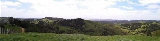 Panorama am Waipu Caves Aussichtspunkt