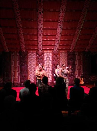 Maori Show in Waititangi