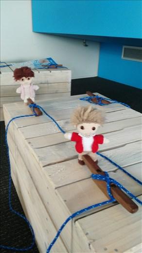 In Auckland war ich mit den Omas im Schifffahrt-Museum. Gerade am ausruhen...