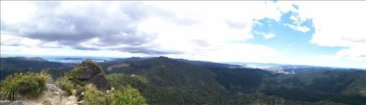 Panorama Castle Rock! Wir hatten sehr gutes Wetter und konnten superweit schauen