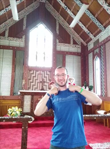Kirche in Tikitiki, zu Gunsten des Maori Batallion