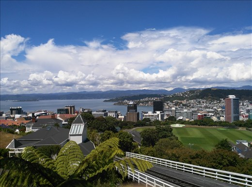 Christchruch! Blick vom Te Papa Museum