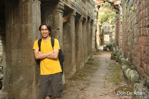 at banteay kdei temple, siem reap, cambodia.