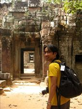 shooting at ta prohm temple, siem reap, cambodia.: by dondealban, Views[352]