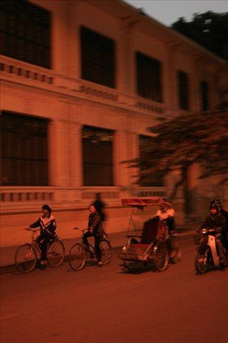 Three kinds of bike-mode transport.