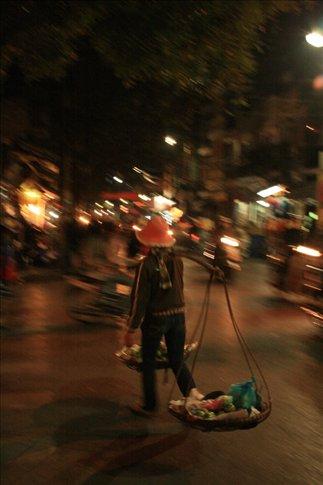 Street hawker.