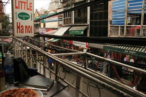 Street view from Little Hanoi resto.