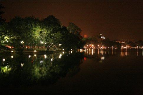 Hoan Kiem Lake.