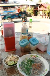 Chicken noodle soup, Lao-style.: by dondealban, Views[601]