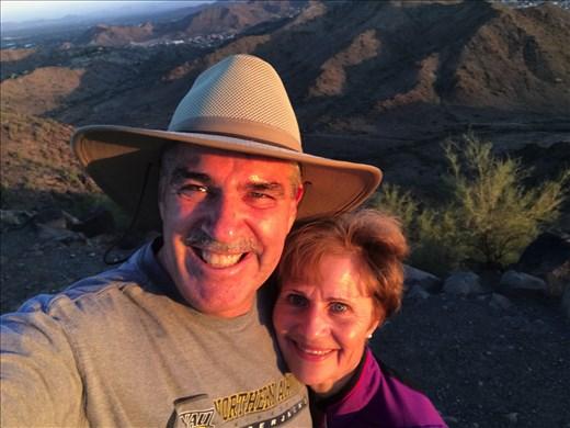 Training in Phoenix Mountain Preserve