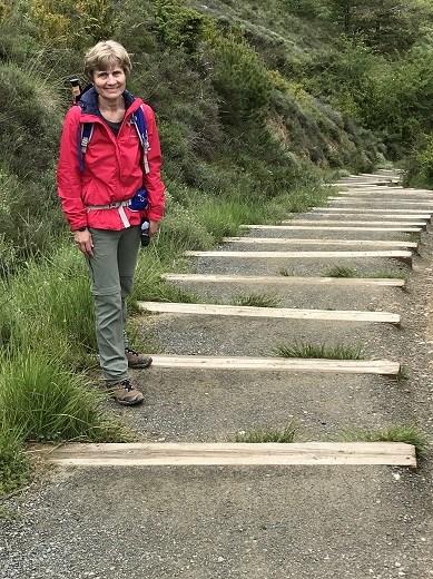 Irotz steps outside town