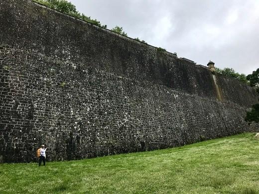 Pamplona Citidel walls