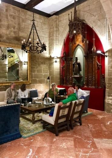 Parador Santo Domingo de la Calzada inside2