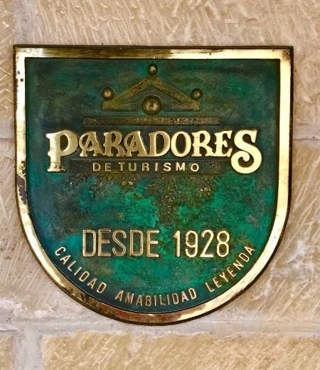 Parador sign