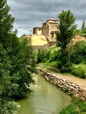 River and church Carrion de Los Condes: by donna_jeff, Views[96]