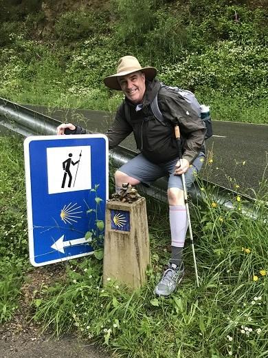 Pyrenees Camino Sign JGH
