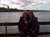 Coti and Marta in front of the lake in Carlos Paz: by doreen-b, Views[151]