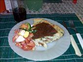Tortilla de papa con ensalada de tomate: by doreen-b, Views[535]