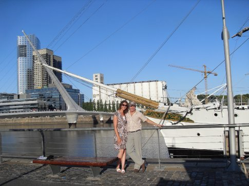 Ship in Puerto Madero