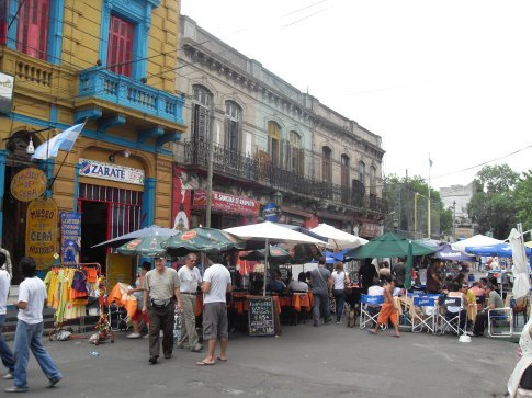A neighborhood called La Boca.  Lots of color in this area